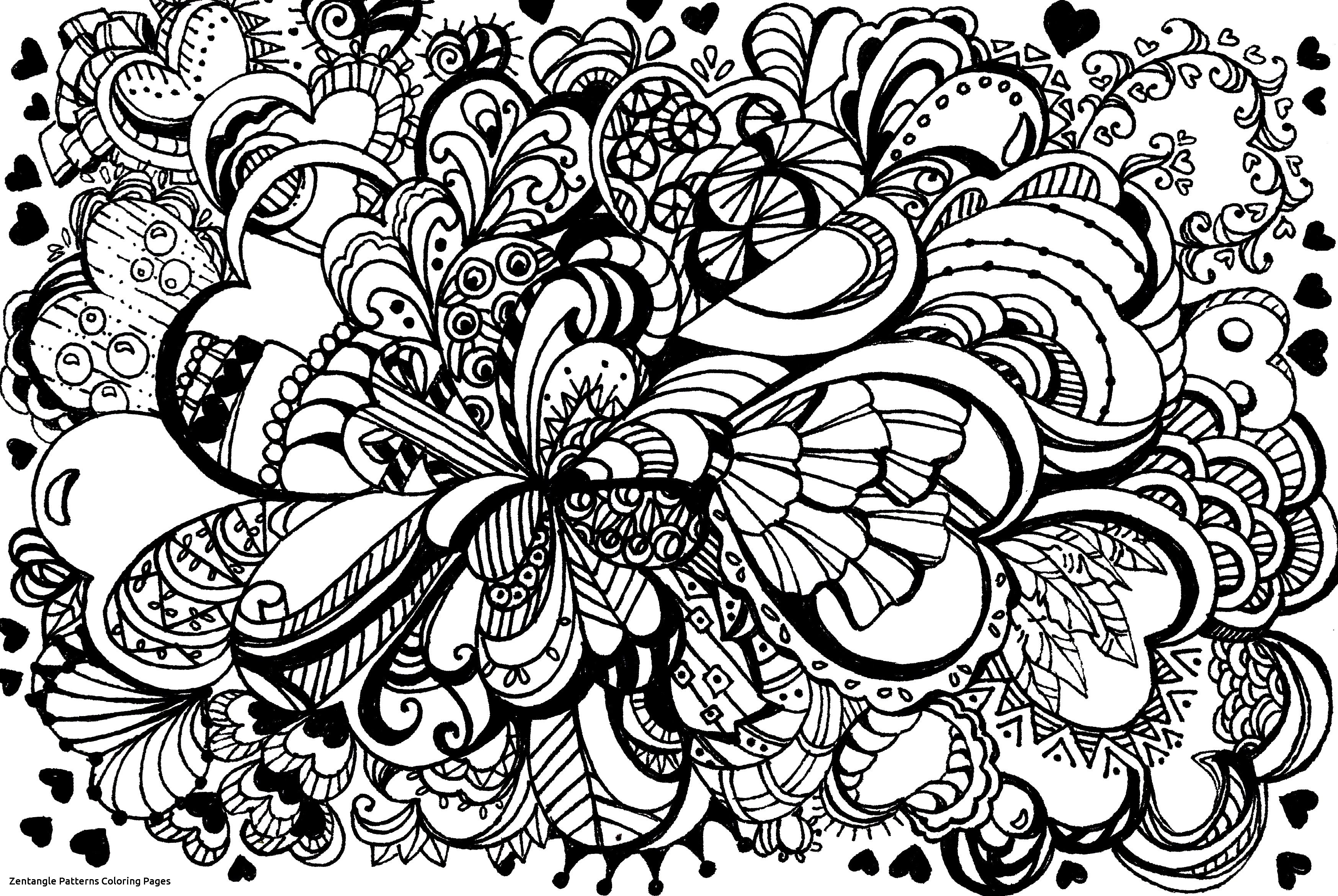 Zentangle Patterns In With Images