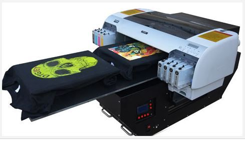 Dtg Flatbed T Shirt Printer A2 Full Package All Purpose