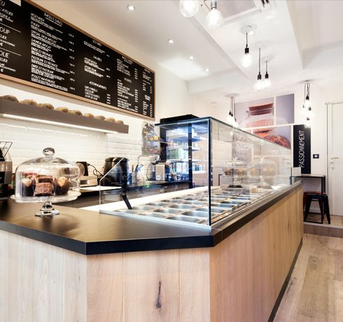 L Atelier Du Bagel 31 Rue Saint Lazare 75009 Paris With Images Restaurant Design Retail Counter Interior