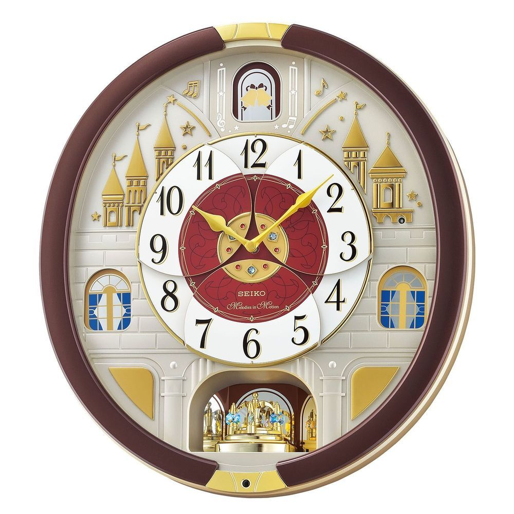 Seiko melodies in motion clock 2016 musical christmas wall clock seiko melodies in motion clock 2016 musical christmas wall clock collector new amipublicfo Image collections