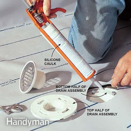 How To Build Shower Pans Shower Pan Building A Shower Pan