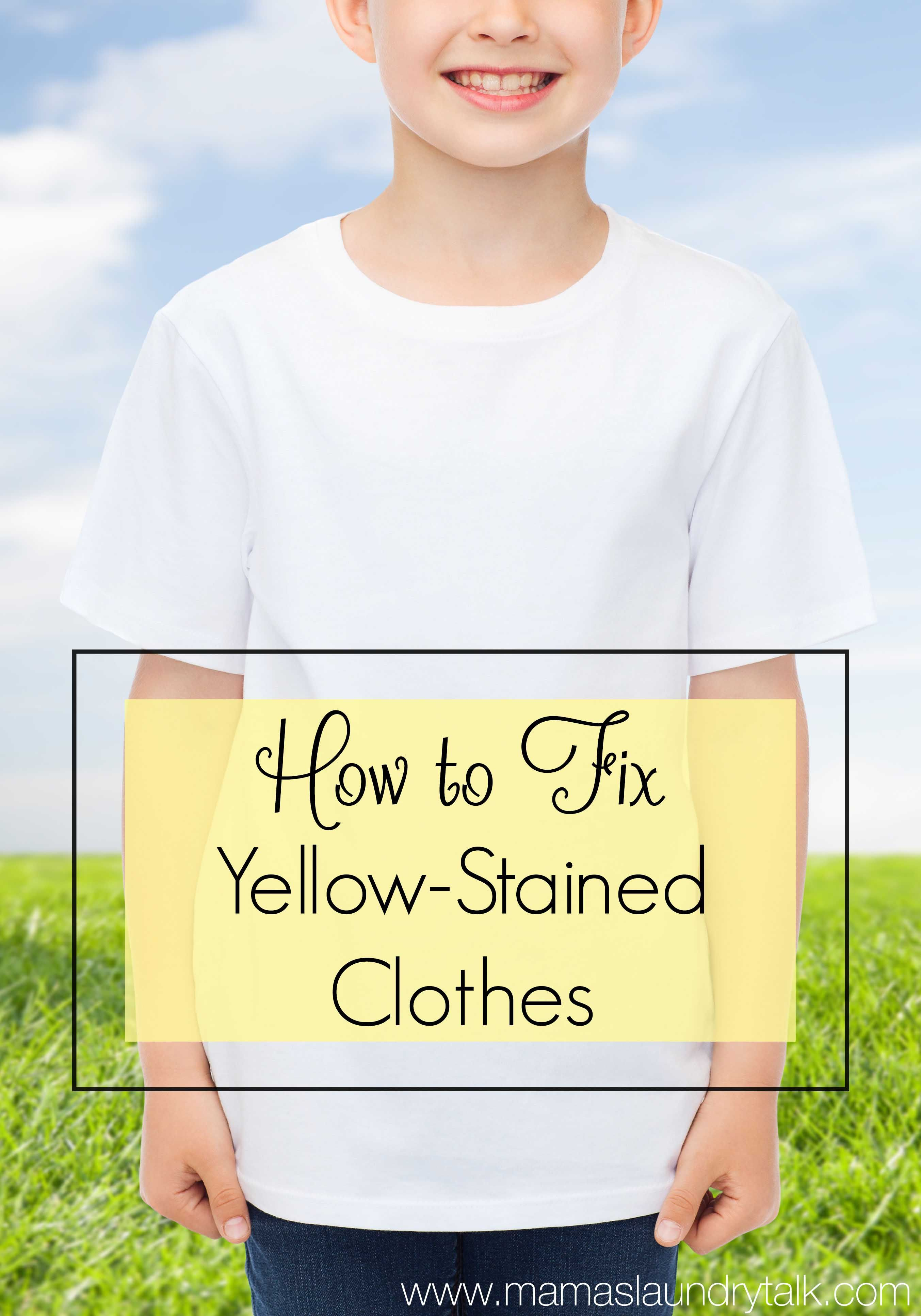 Have your white clothes turned yellow or dingy follow