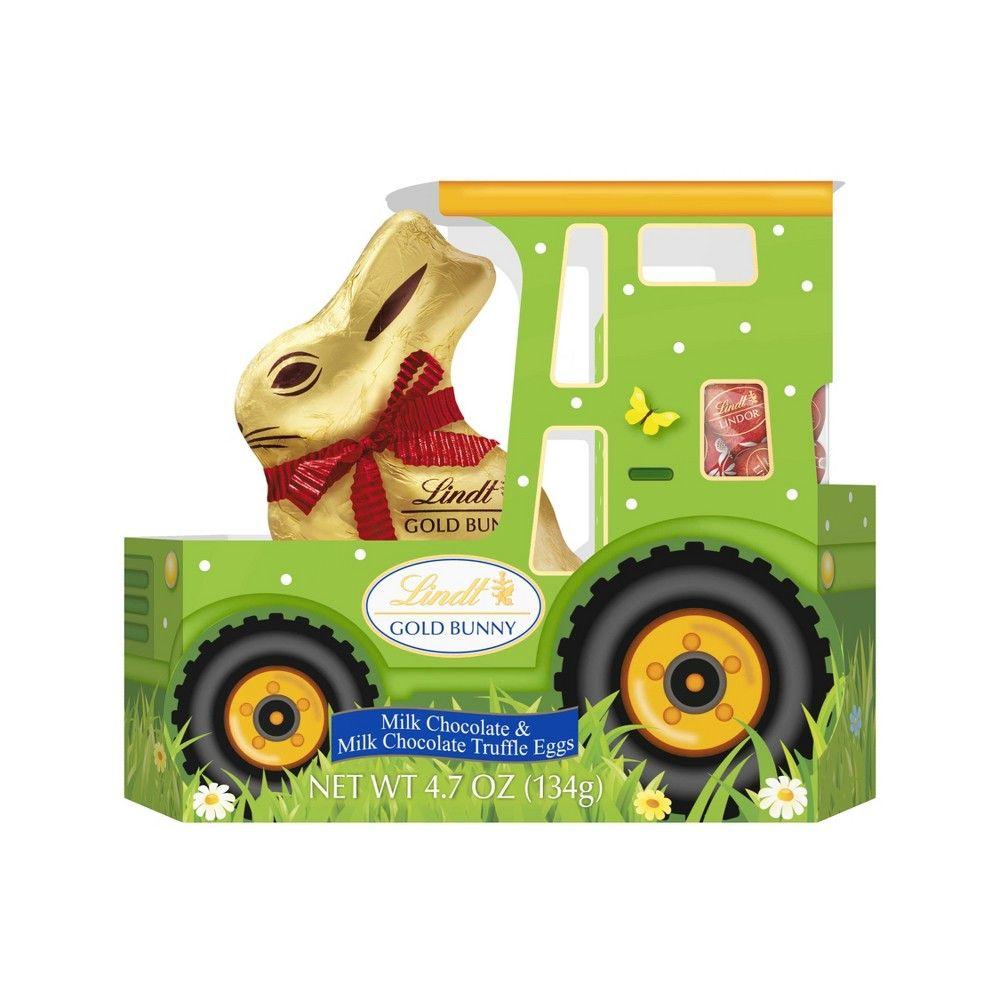 Lindt Easter Tractor Bunny 4 7oz In 2020 Lindt Easter Bunny Lindt