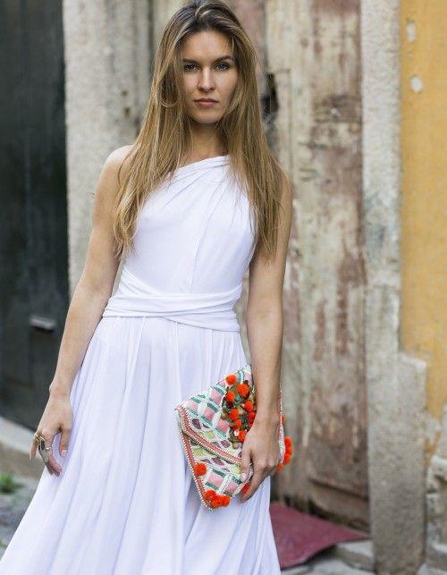 Sukienki midi (mit Bildern) | Brautmode, Kleider ...