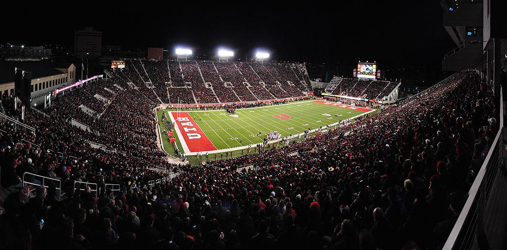 RiceEccles Stadium BLACKOUT!!! Utah utes, Utah, Stadium