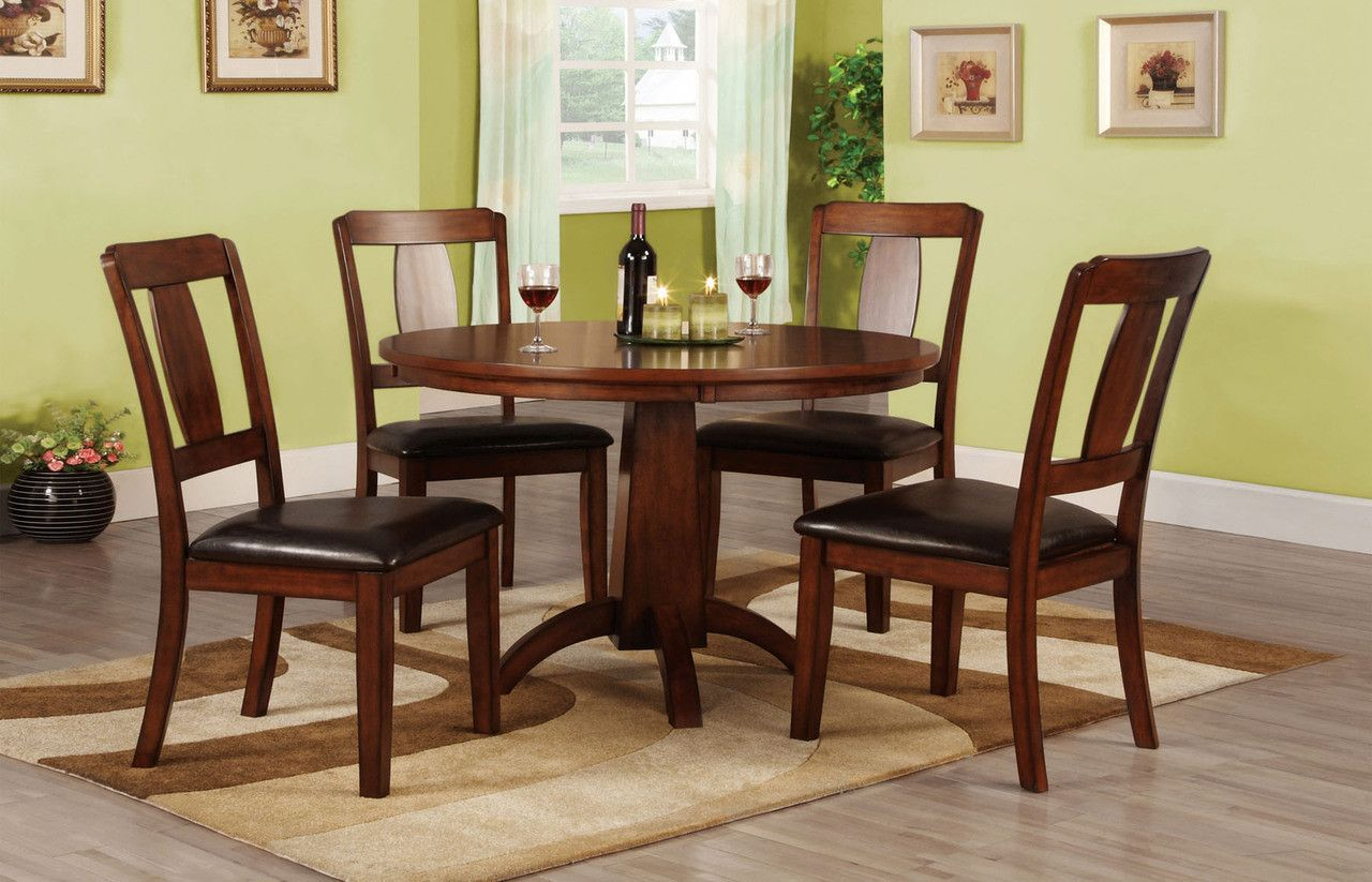 Englewood collection transitional style antique dark oak