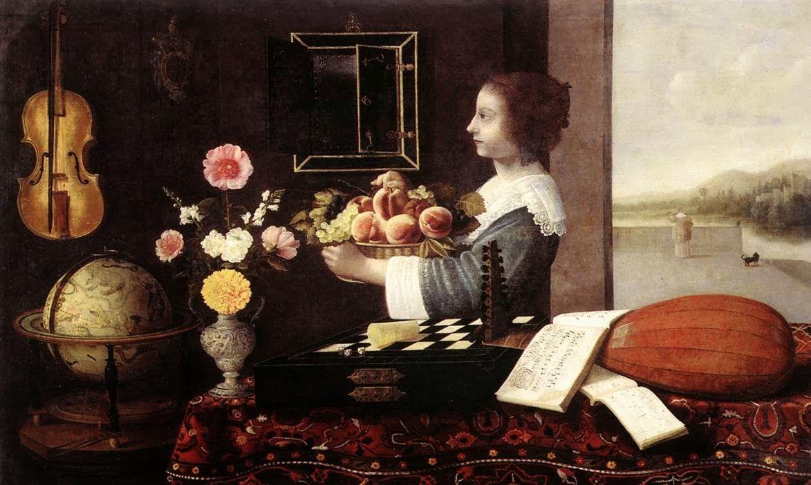 Sebastian STOSKOPFF L'Été ou les Cinq Sens 1633