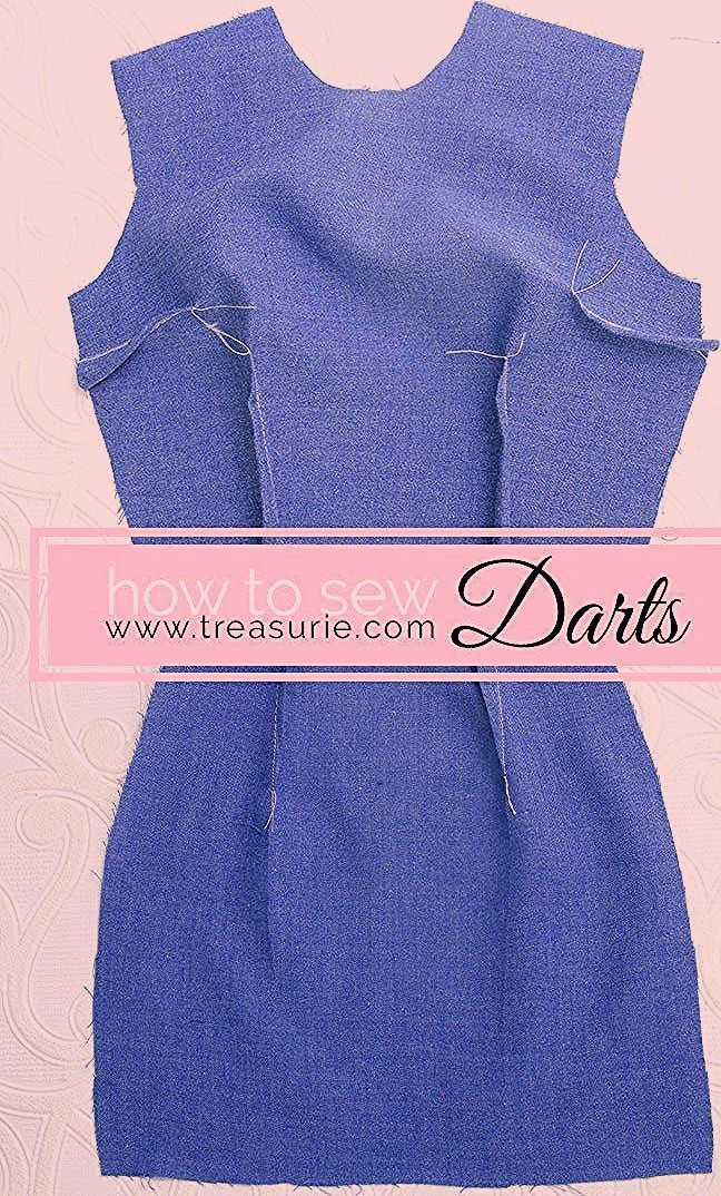 Learn how to sew and press darts with this sewing tutorial Sometimes we go to the store or the neighbor There are only three things we want to take with us the key the wa...