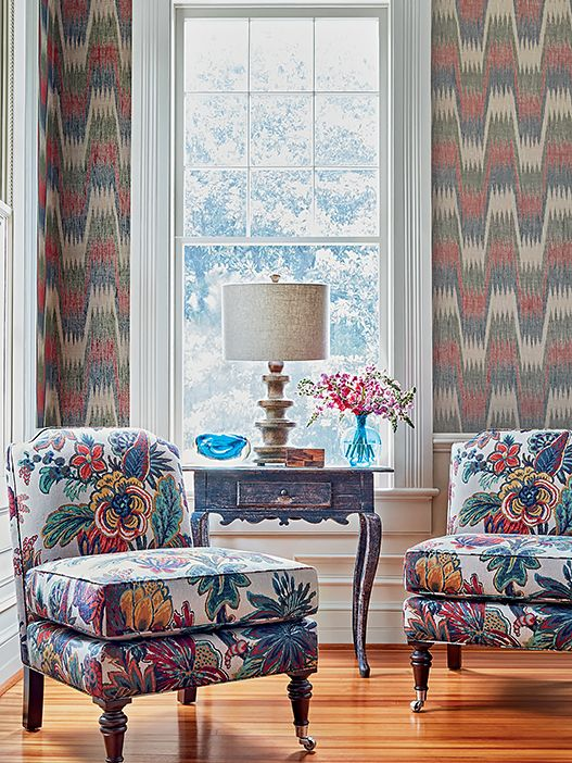 Thibaut Fabrics at Chevron