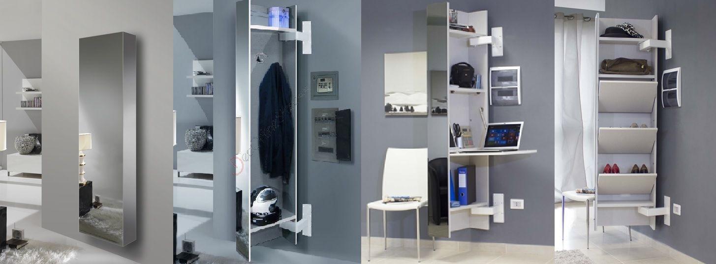 Mirror by esalinea contenitore sospeso multifunzione mobili e idee d 39 arredamento pinterest - Mobili multifunzione ...