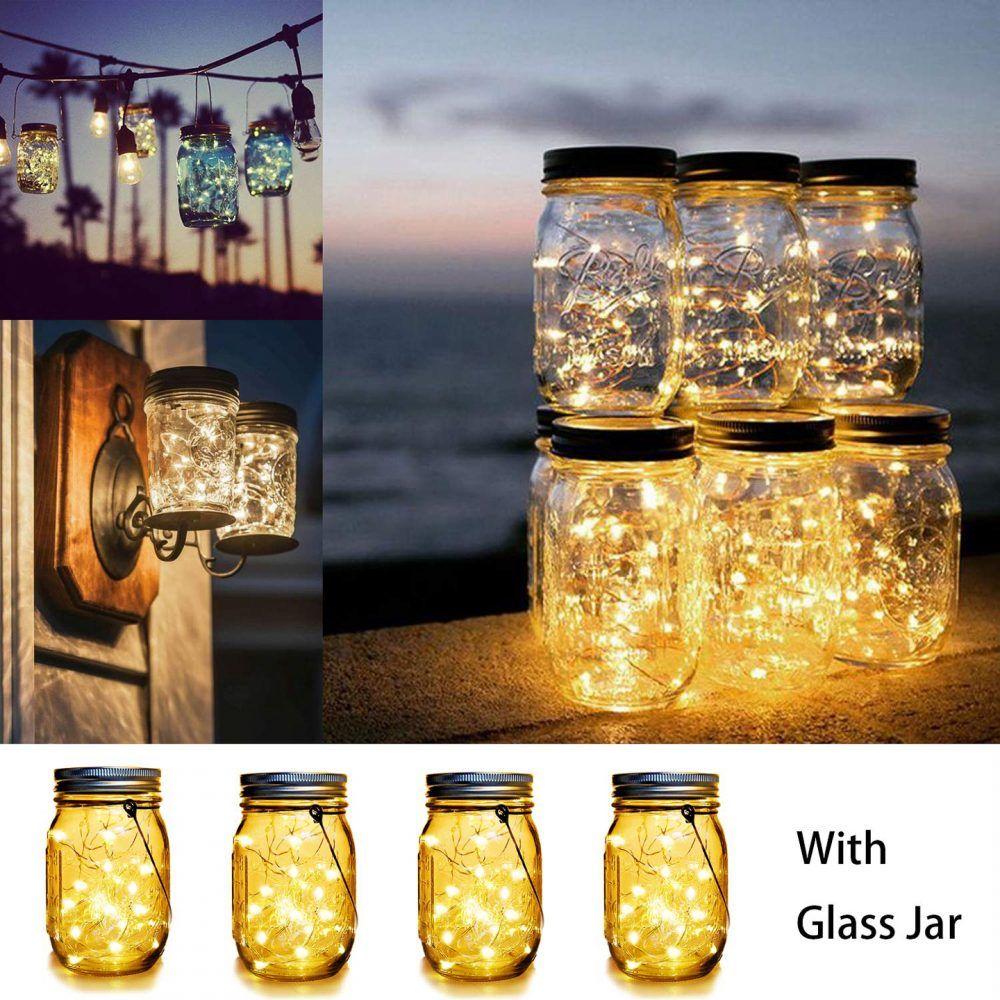 cdd52ac5c4222e962a347408a9426f70 - Better Homes And Gardens Outdoor Decorative Solar Glass Jar Lantern