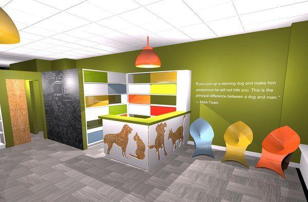 Veterinary Clinic Interior Design Ic Mekan Fikirleri Veterinerler Fikirler