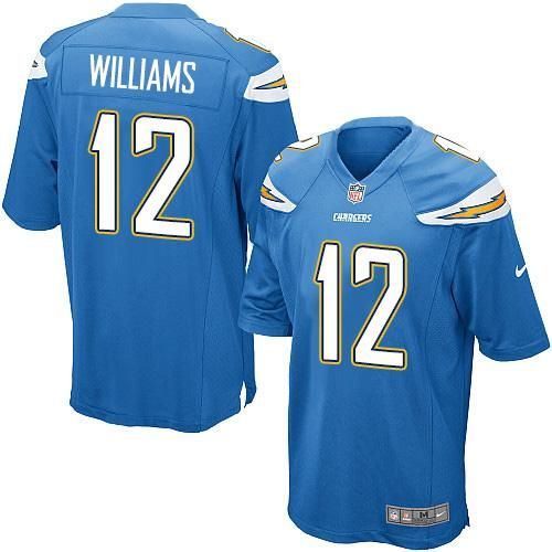 Nike Chargers  12 Mike Williams Electric Blue Alternate Youth Stitched NFL  New Elite Jersey dcbde334e