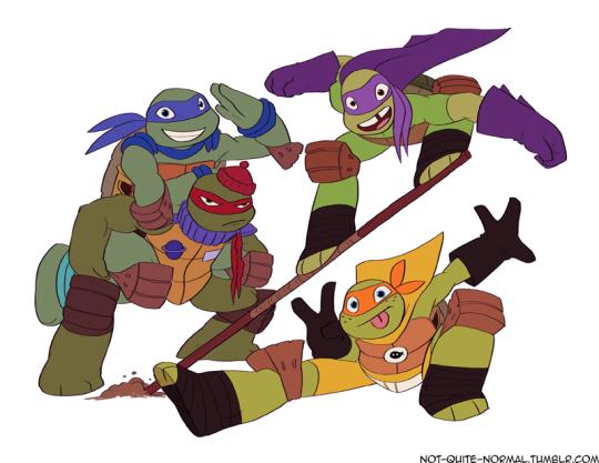 Time And Space With Images Teenage Ninja Turtles Ninja