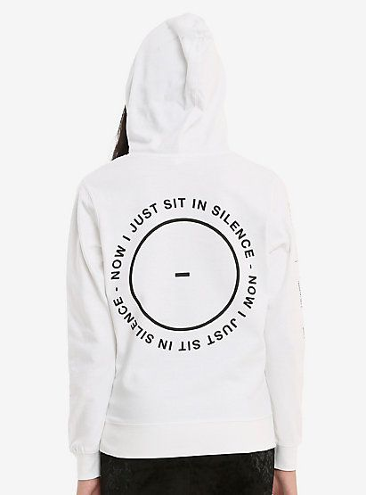 2ac005f2c55 Twenty One Pilots Sit In Silence Girls HoodieTwenty One Pilots Sit In  Silence Girls Hoodie