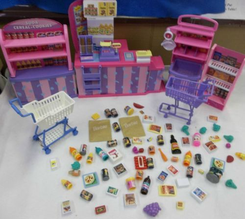 Vintage Barbie So Much To Do Supermarket With Free Arco