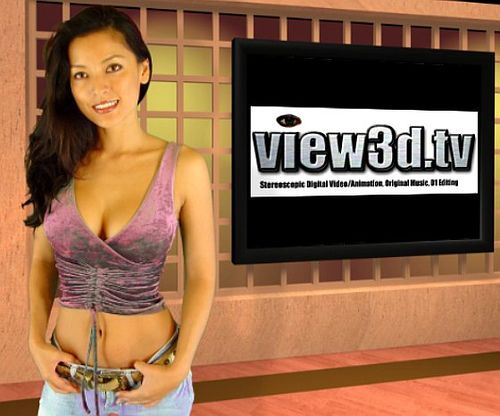 Kelly visits view3d.tv