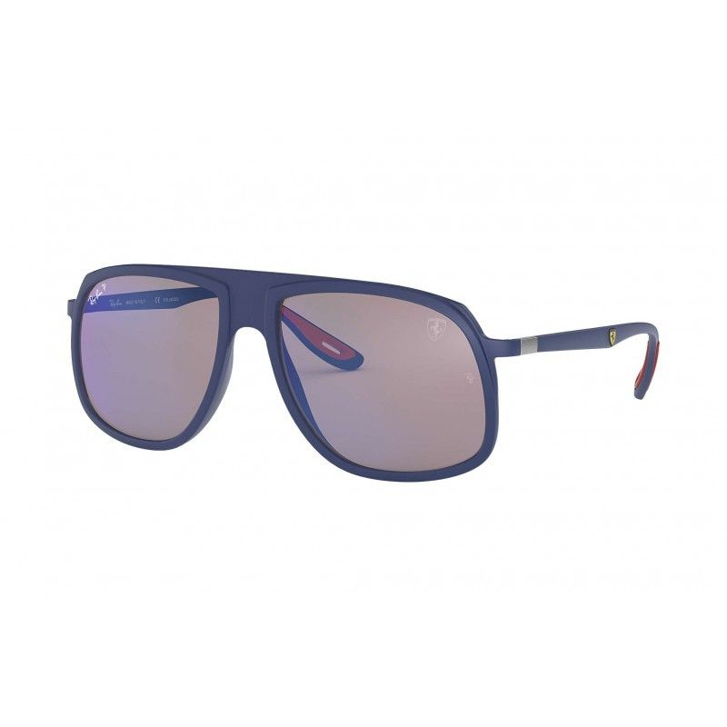127ecba0d5 Gafas de sol RAY BAN Ferrari 4308M Azul - Azul Mirror Chromance ...