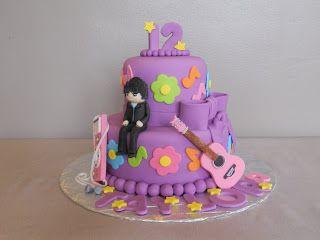 Adam Lambert Music Birthday Cake