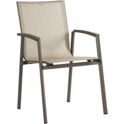Photo of Stern furniture stacking chair New Top brown, 89x57x65 cm star