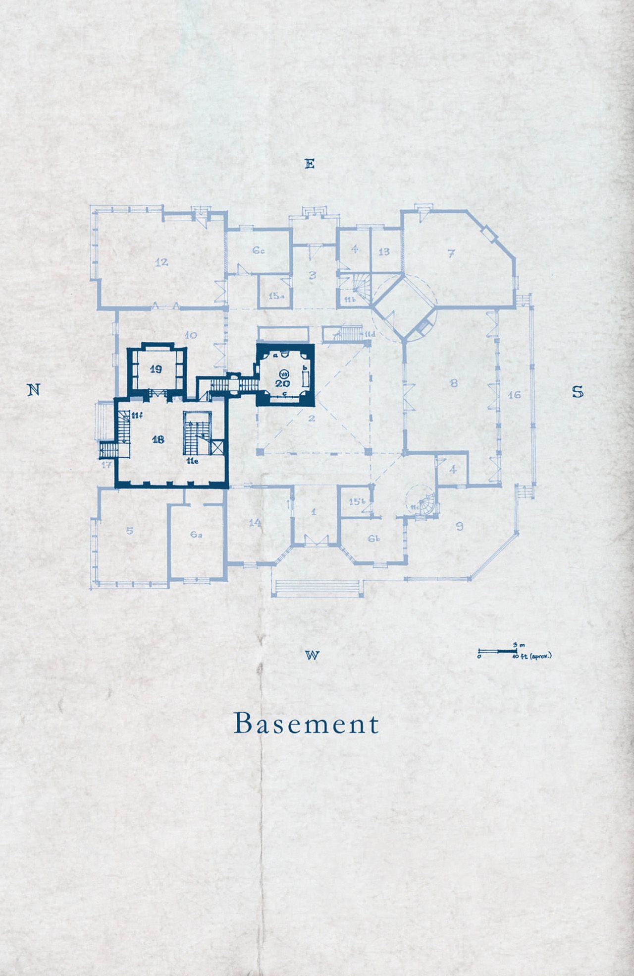 Keyhouse manor blueprints 01 basement locke key pinterest keyhouse manor blueprints 01 basement malvernweather Images