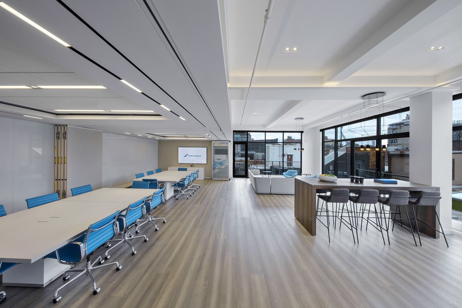 A Tour Of Argo Group S Modern Nyc Office