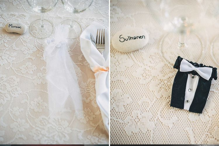 Wedding table setting. Bride and the groom / table. Wedding Photography by Jere Satamo.