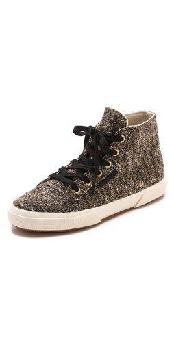 aaf5914b1fd1 Superga The Man Repeller X Superga Tweed High Top Sneakers