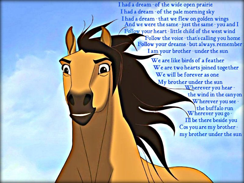 Dreamworks Animation Wallpaper Spirit Stallion Of The Cimarron Spirit The Horse Horse Movies Spirit And Rain