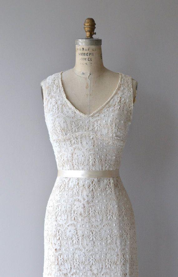 Jacinta häkeln Brautkleid 1960er Jahre Vintage von DearGolden ...
