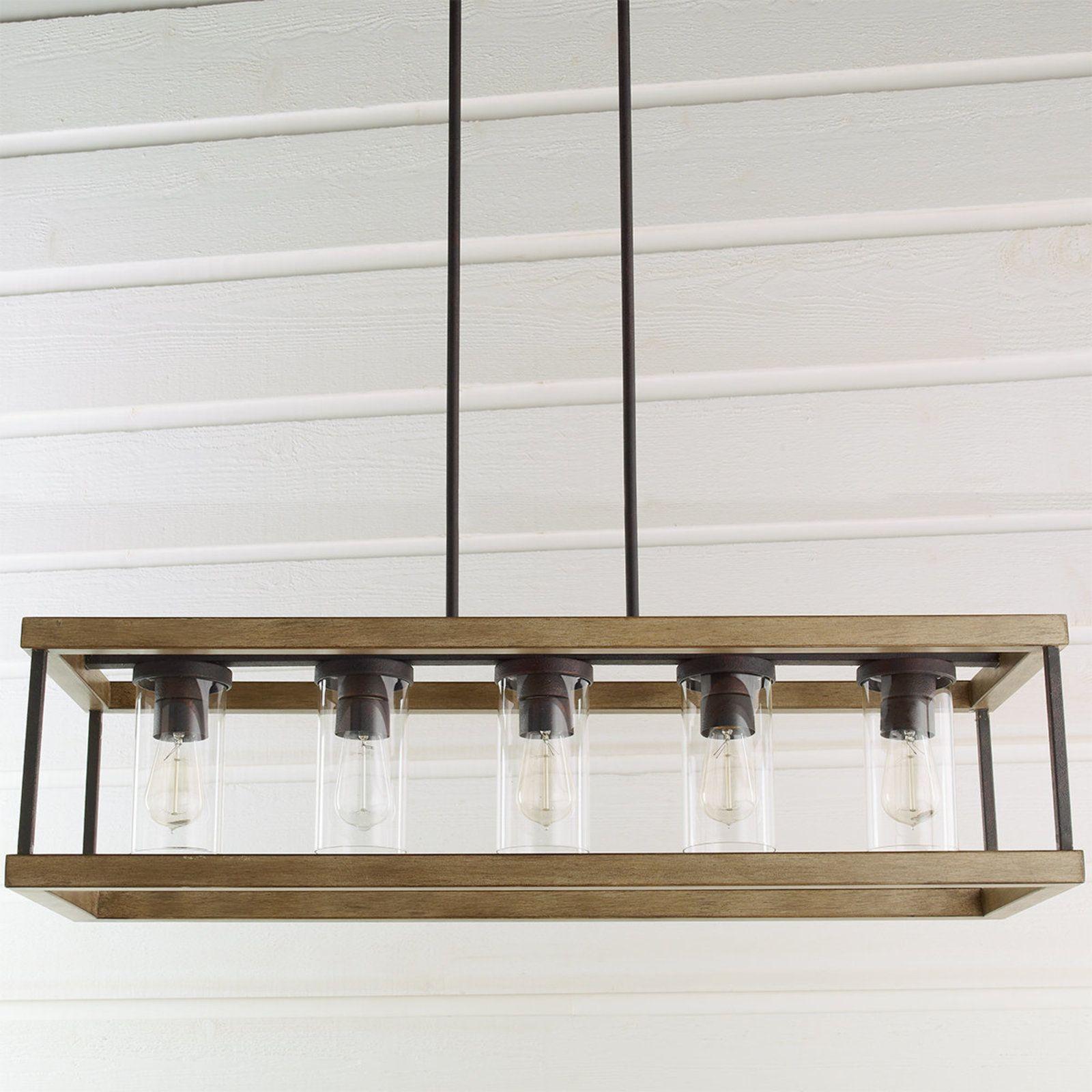 IndoorOutdoor Rectangular Rustic Chandelier IndoorOutdoor Rectangular Rustic