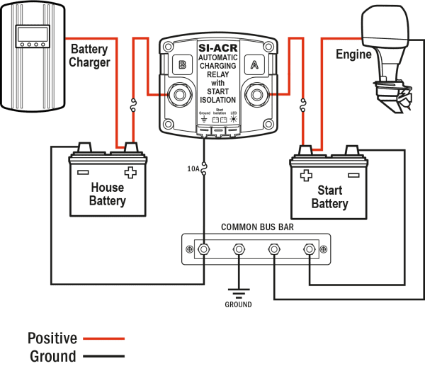 24 Volt Trolling Motor Wiring With Charger | Boat wiring ...
