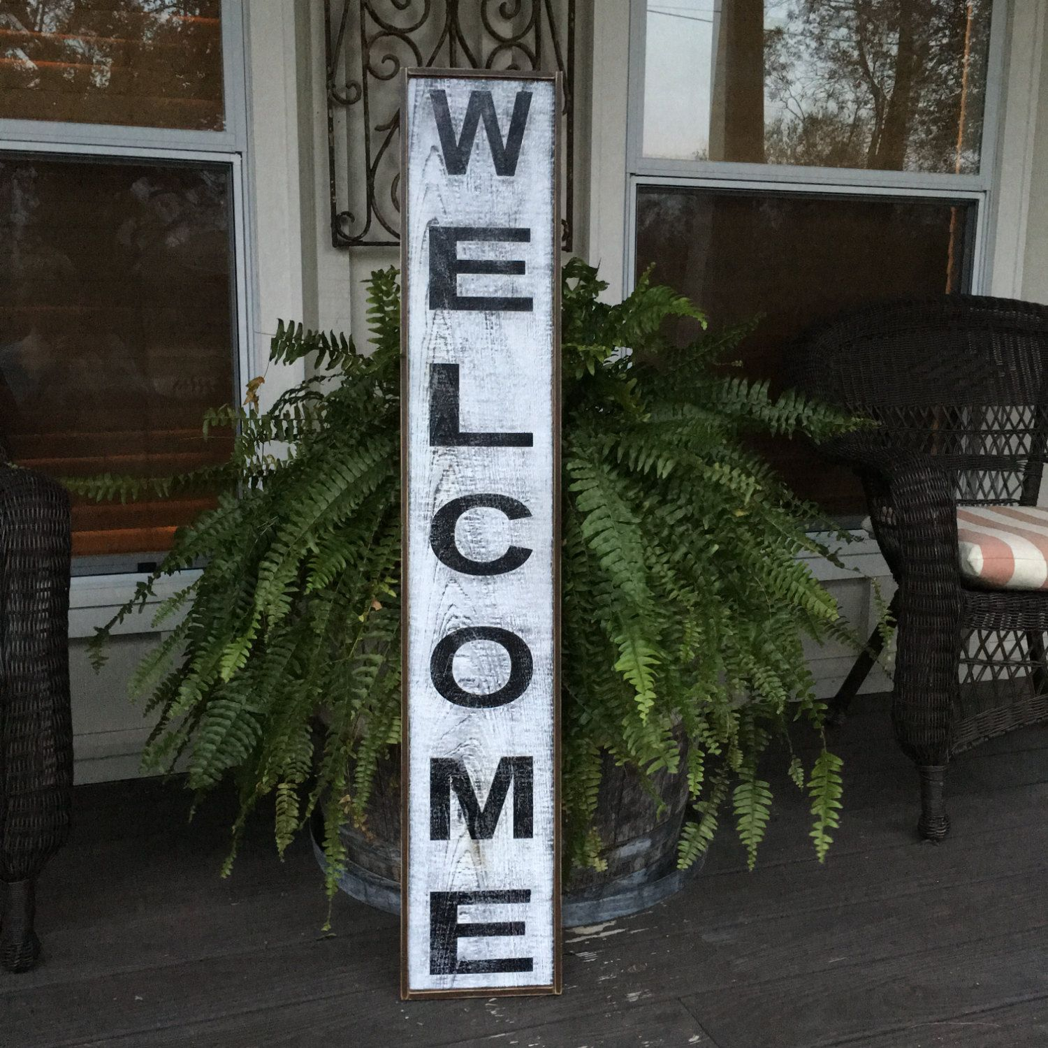 Welcome signfixer upper signs41x725 rustic wood signs welcome signfixer upper signs41x725 rustic wood signs farmhouse signs amipublicfo Image collections