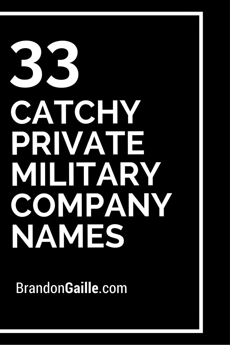 catchy private military company s military private 33 catchy private military company s