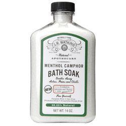J R Watkins Menthol Camphor Bath Soak Tender Love Care