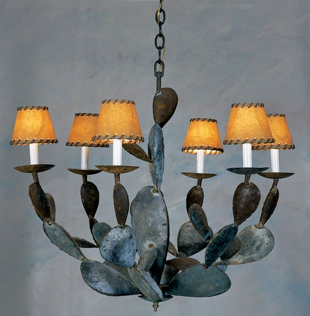 Cactus Chandelier ~ Illuminaries Lighting