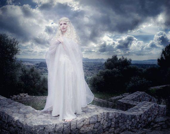 Elven gown fantasy cosplay Elf Lady