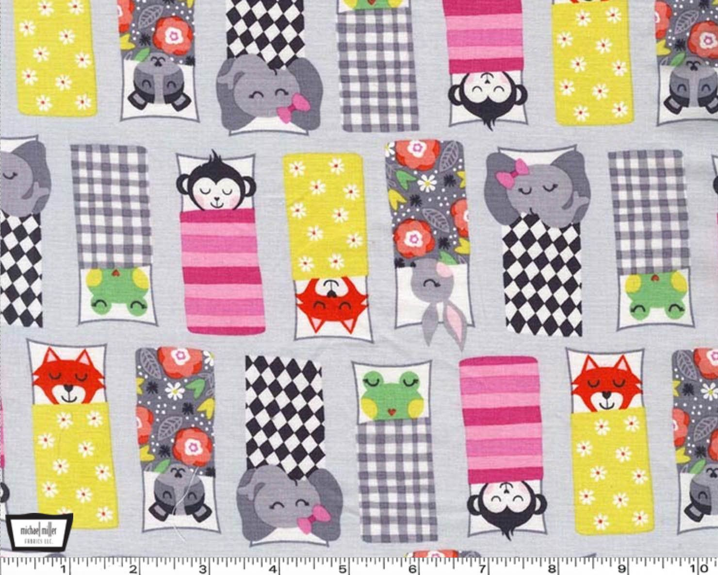 Road Trip Happy Campers Cloud Gray From Michael Miller Etsy Michael Miller Fabric Fabric Happy Campers