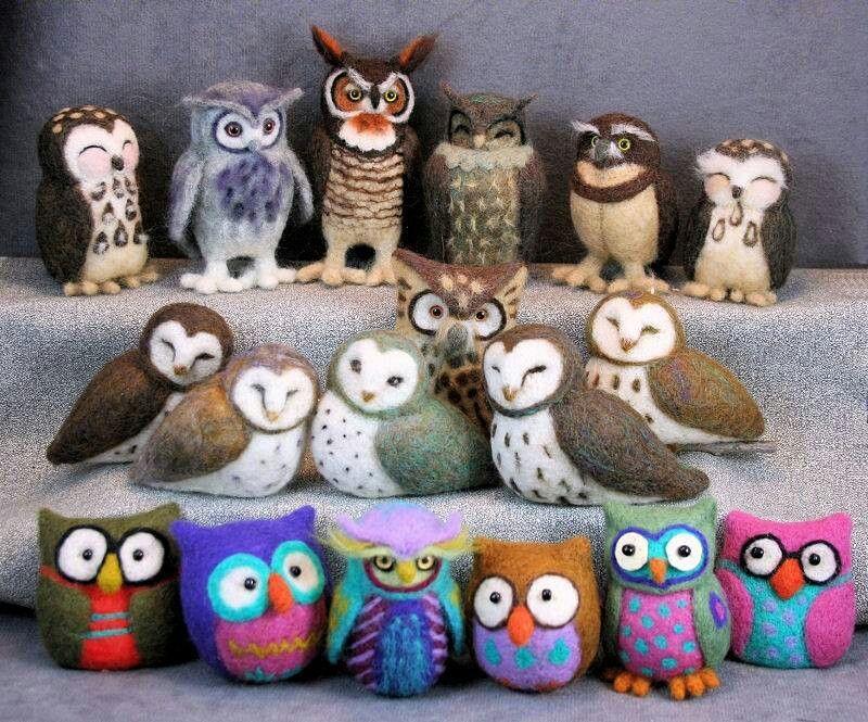 Needle Felting Kit Simply Make Owl
