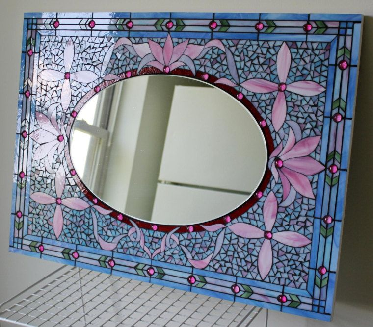 Glassarts studio, beautiful mirror