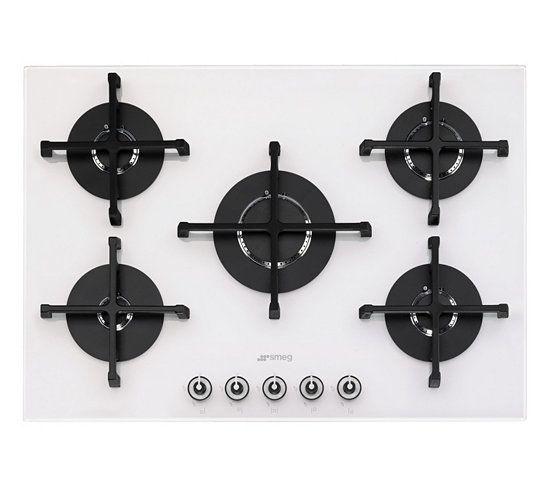 table gaz smeg pv175b 1. Black Bedroom Furniture Sets. Home Design Ideas