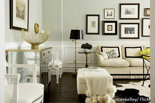 Bildergebnis für wohnzimmer gold schwarz | Furniture ...
