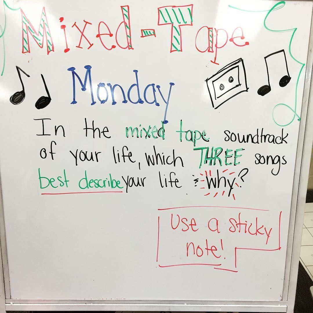 Monday morning message! Board idea goes to @lovin7th! #miss5thswhiteboard #4KP #iteachfourth #teachersfollowteachers