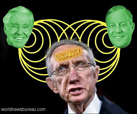 Koch brothers mentally taunt Harry Reid