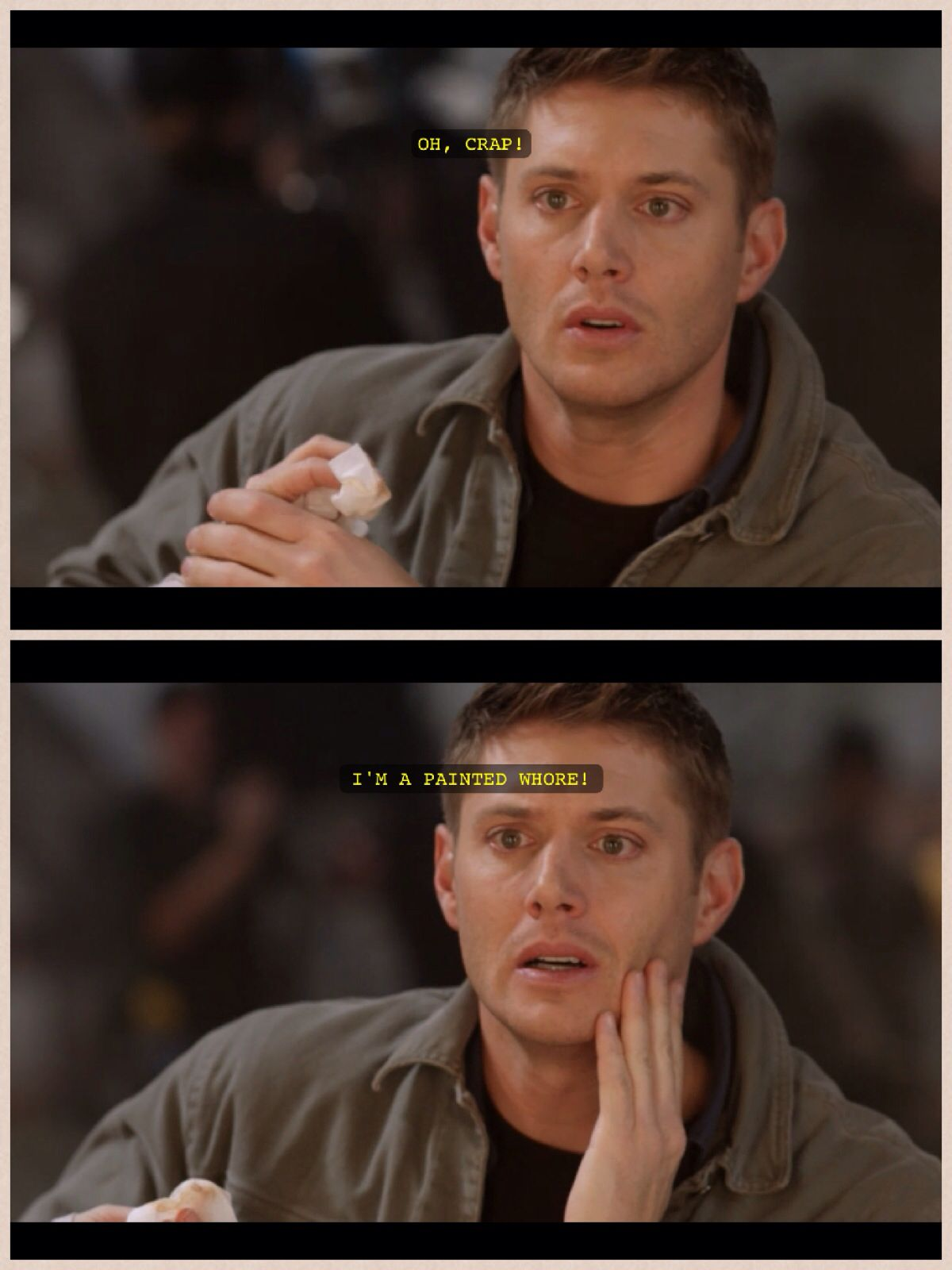 Supernatural- the French Mistake