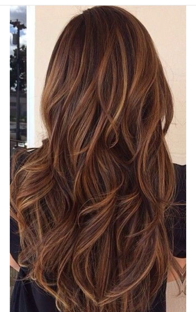 Pin by nikki love on hair colour pinterest hair coloring brunette with subtle caramel highlights high and low lights pmusecretfo Images
