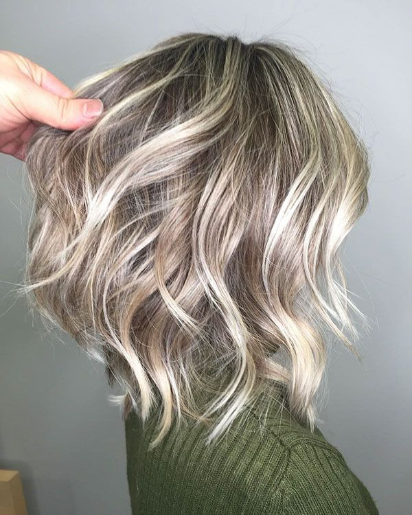 23+ Blonde highlights short hair ideas