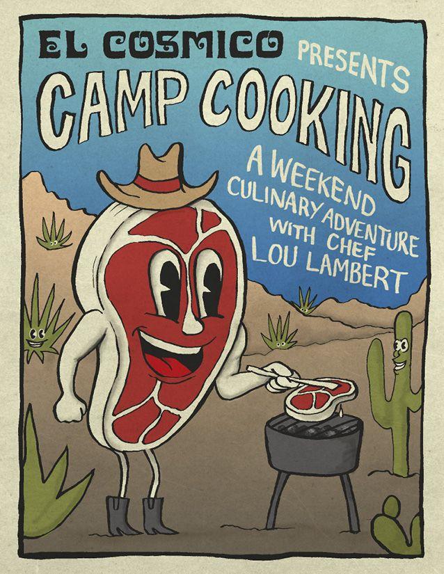 Camp Cooking | El Cosmico | Marfa, TX | Camp cooking ...