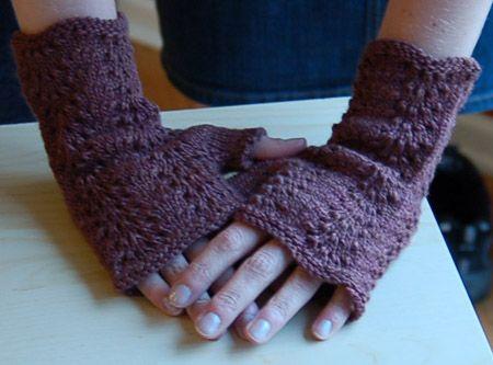baby fan mitts worn