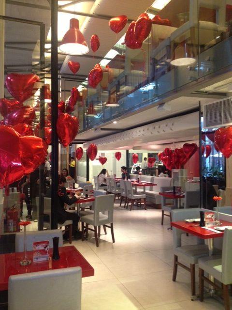 Decoraç u00e3o Restaurante Centro Coisas para comprar Dia dos namorados, Namorados e Restaurante -> Decoração De Restaurante Para Dia Dos Namorados